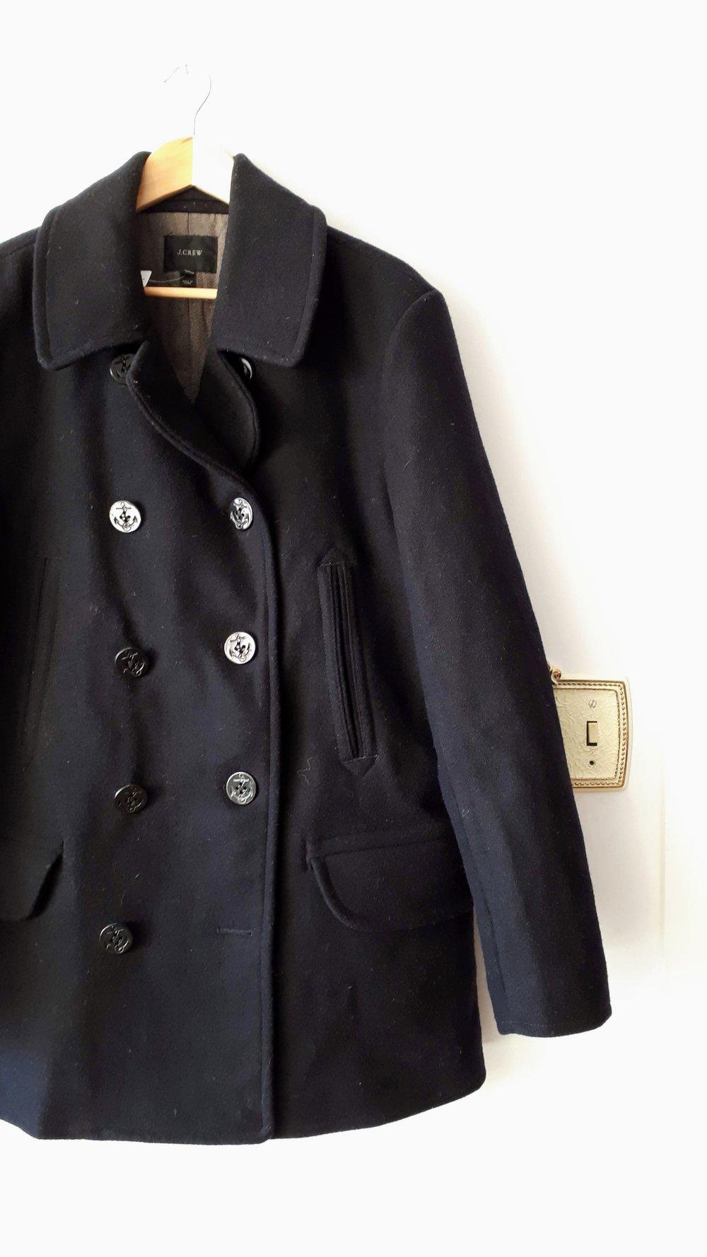 J Crew mens coat; Size L, $58