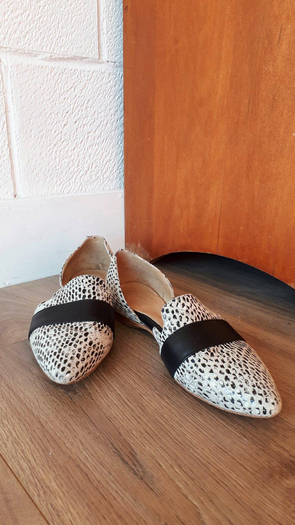 Poppy Barley shoes; Size 8.5, $95