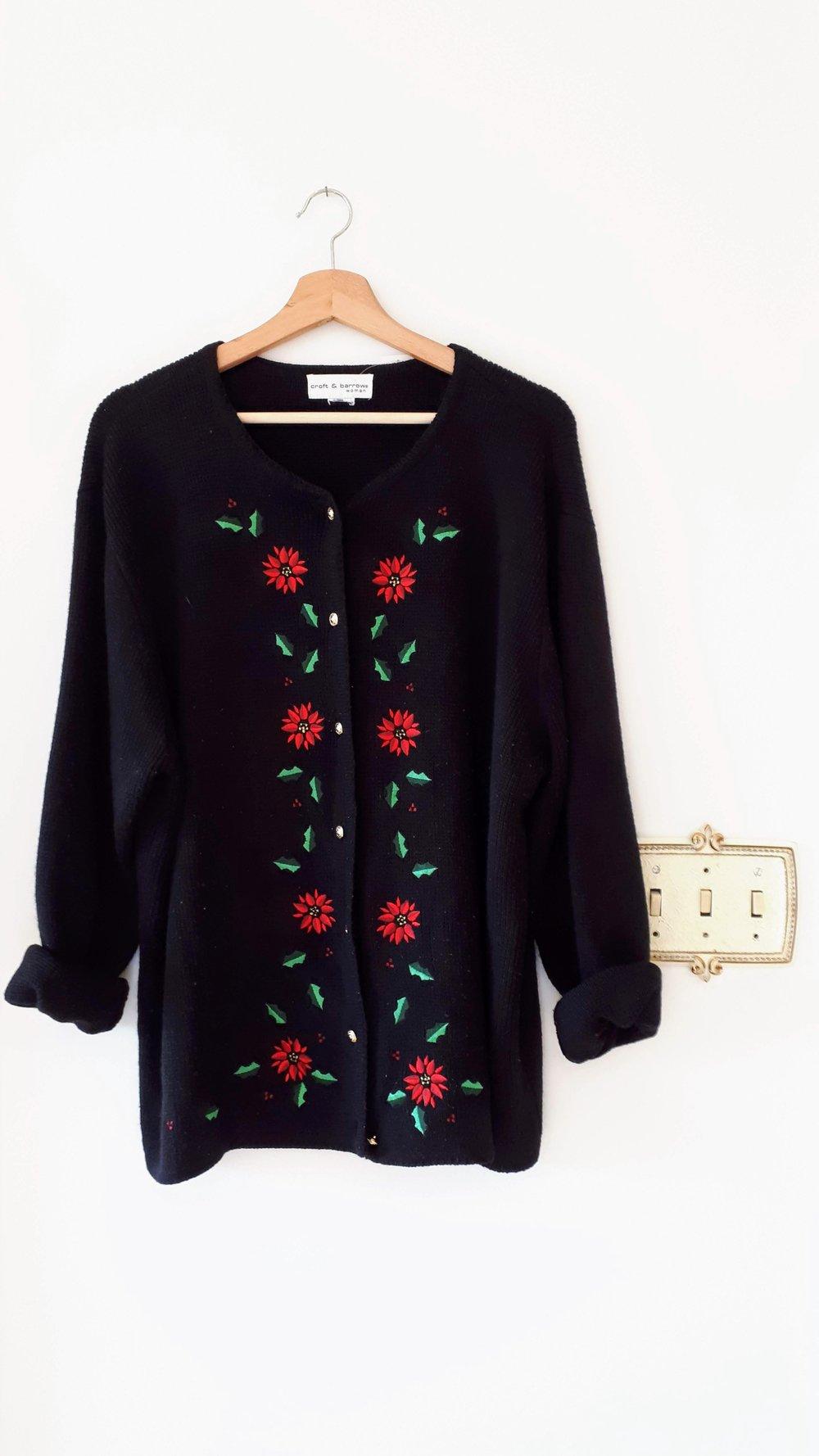 Sweater; Size L, $22