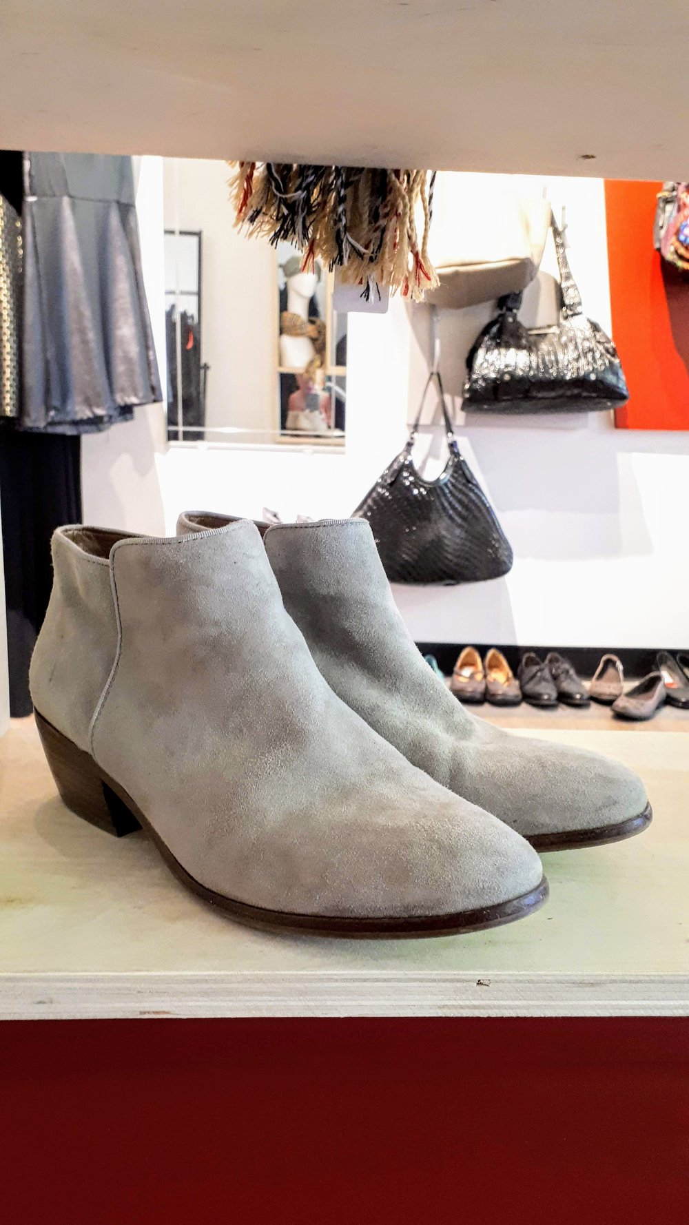 Sam Edelman shoes; S8.5, $68