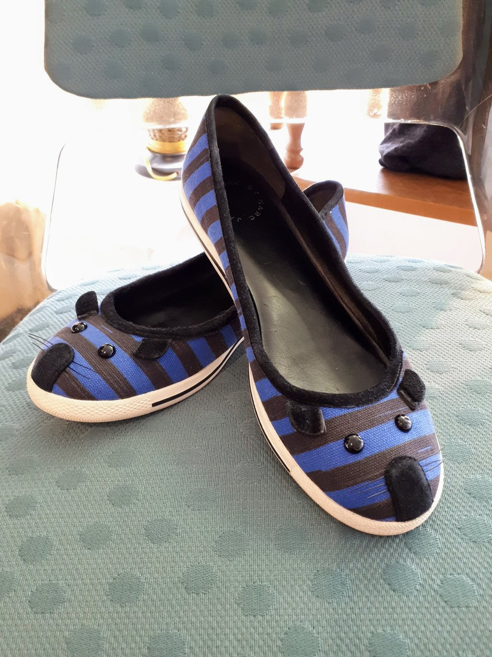 Marc Jacobs shoes; S8, $42