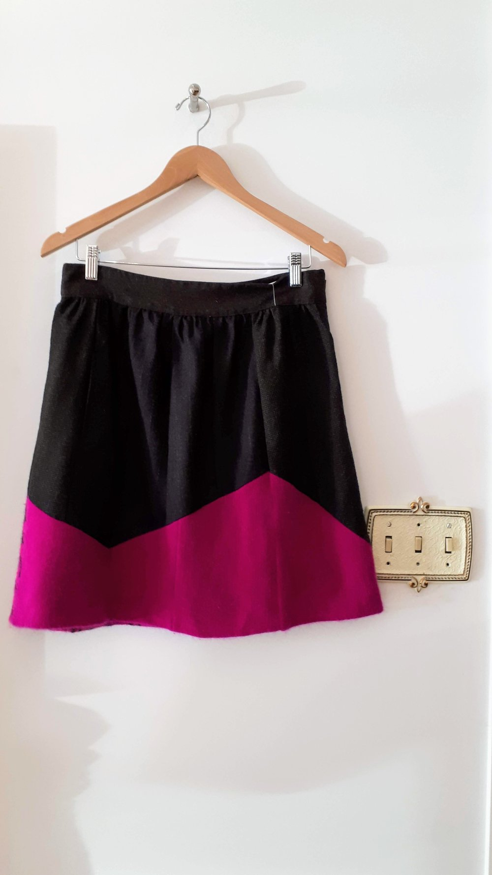PreLoved skirt; Size M, $34