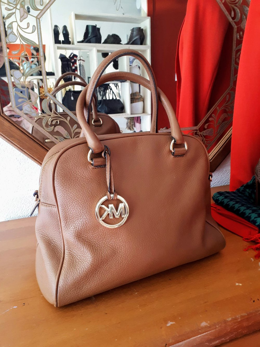 Michael Kors bag, $65