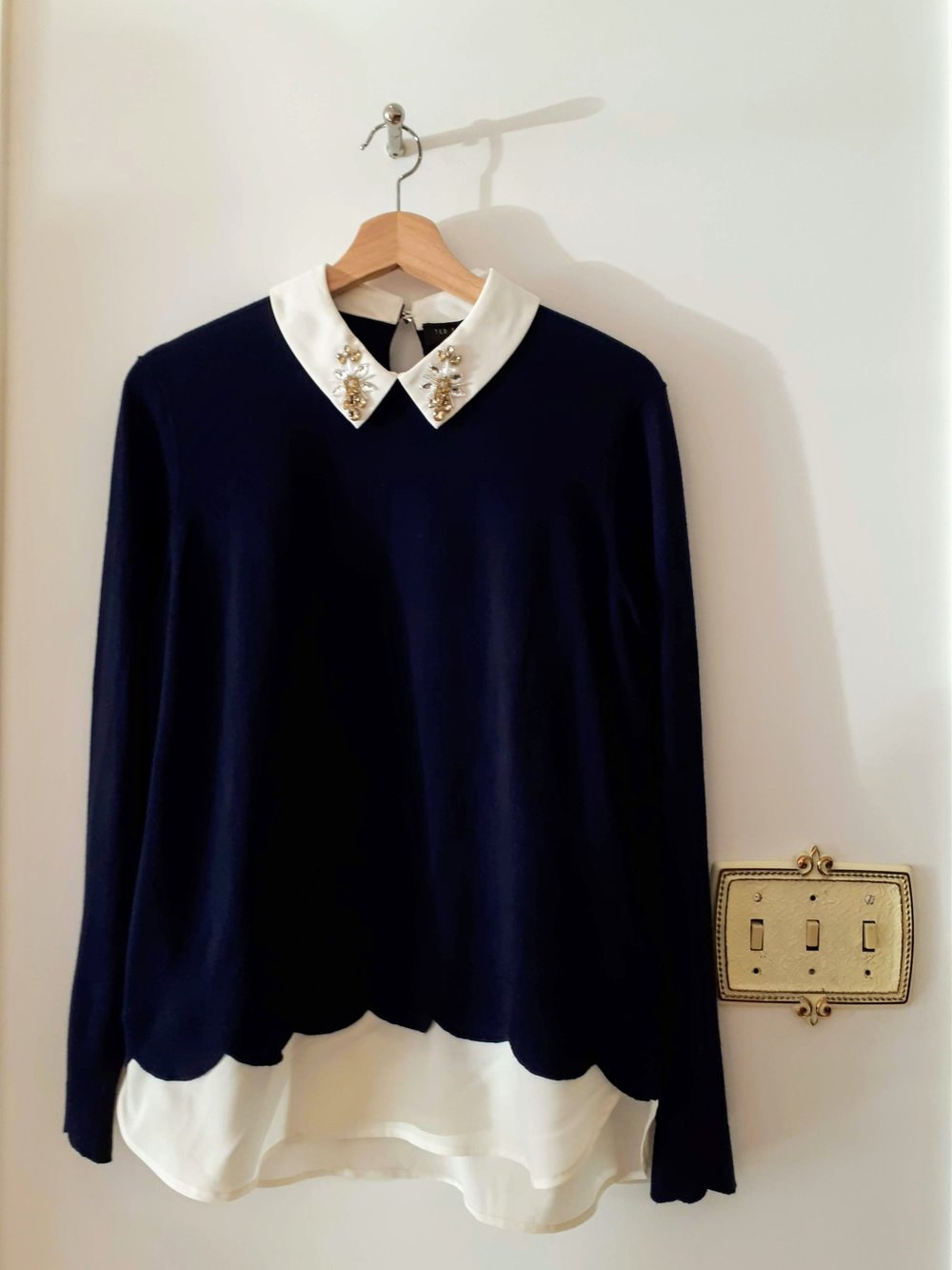 Ted Baker top; Size M, $85