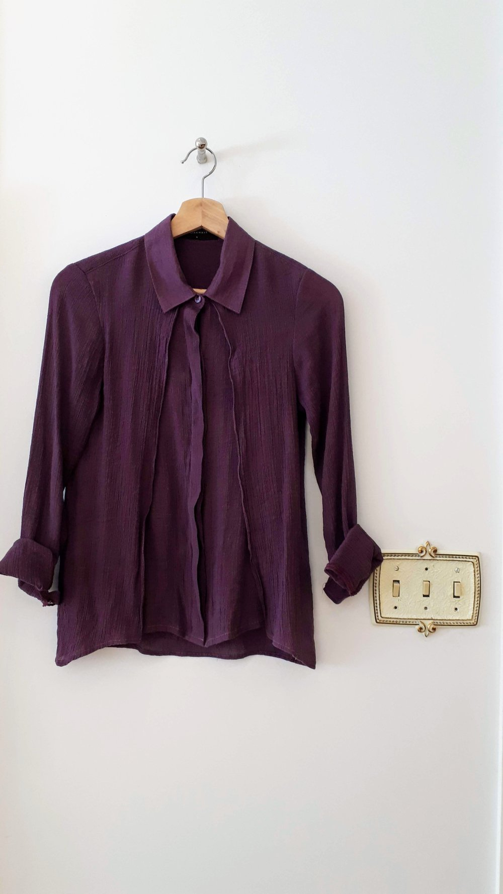 Workhall top; Size S, $30