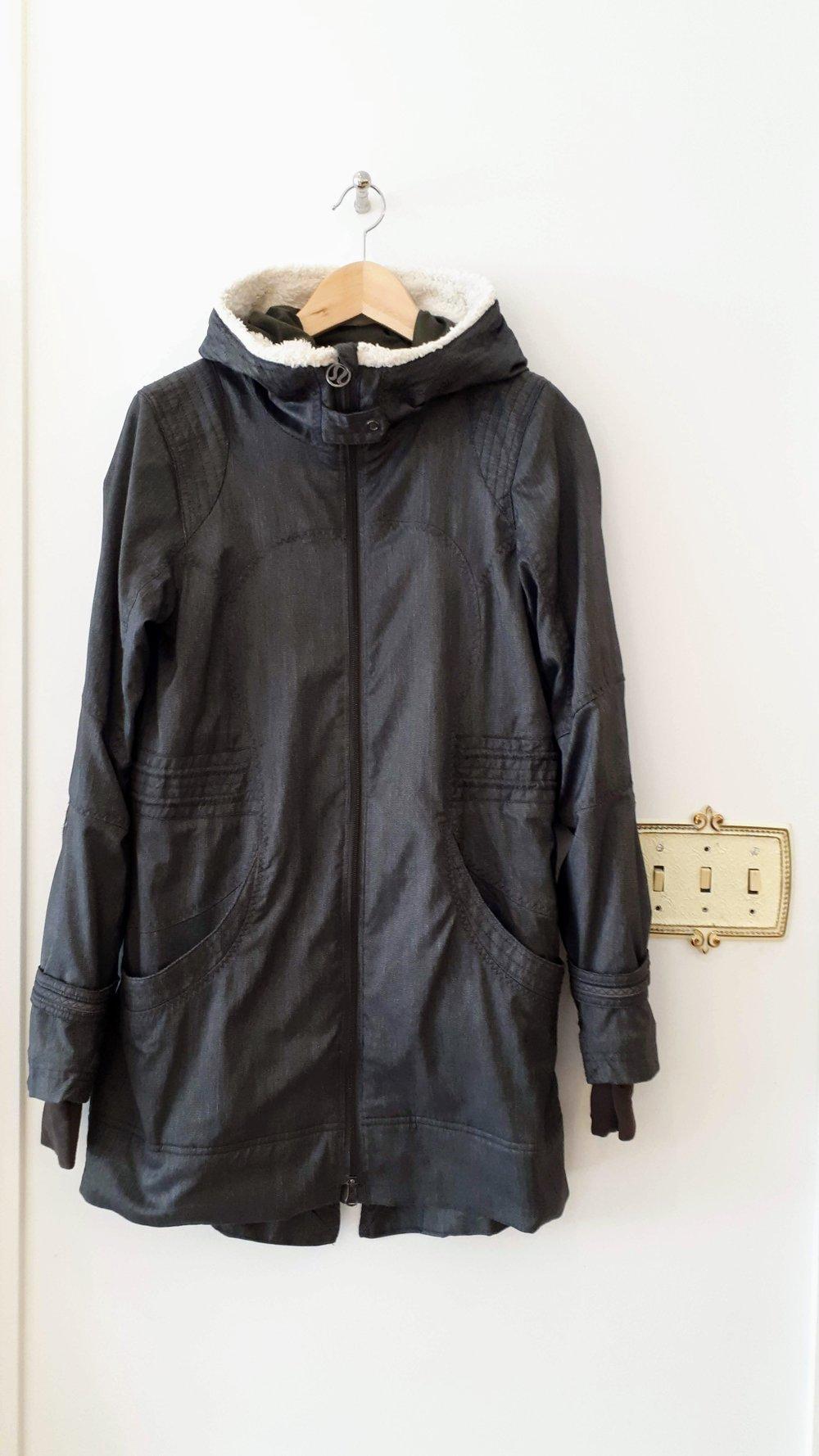 Lululemon coat; Size S, $89