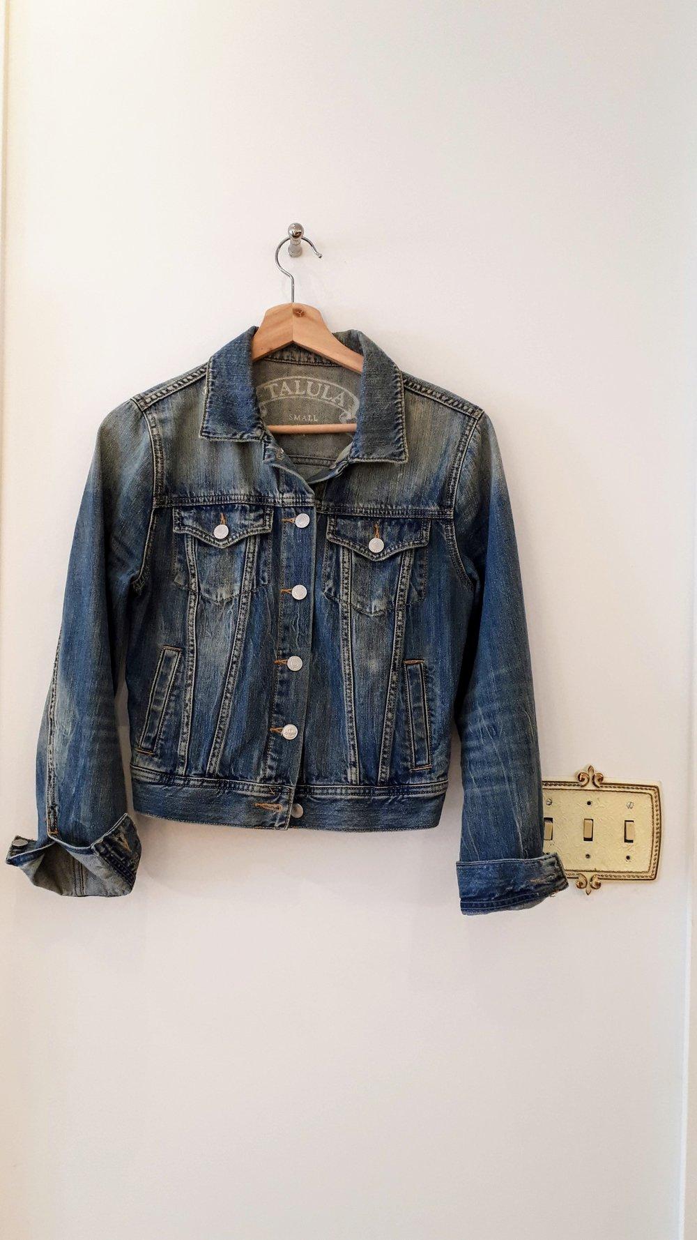 Talula jacket; Size S, $36
