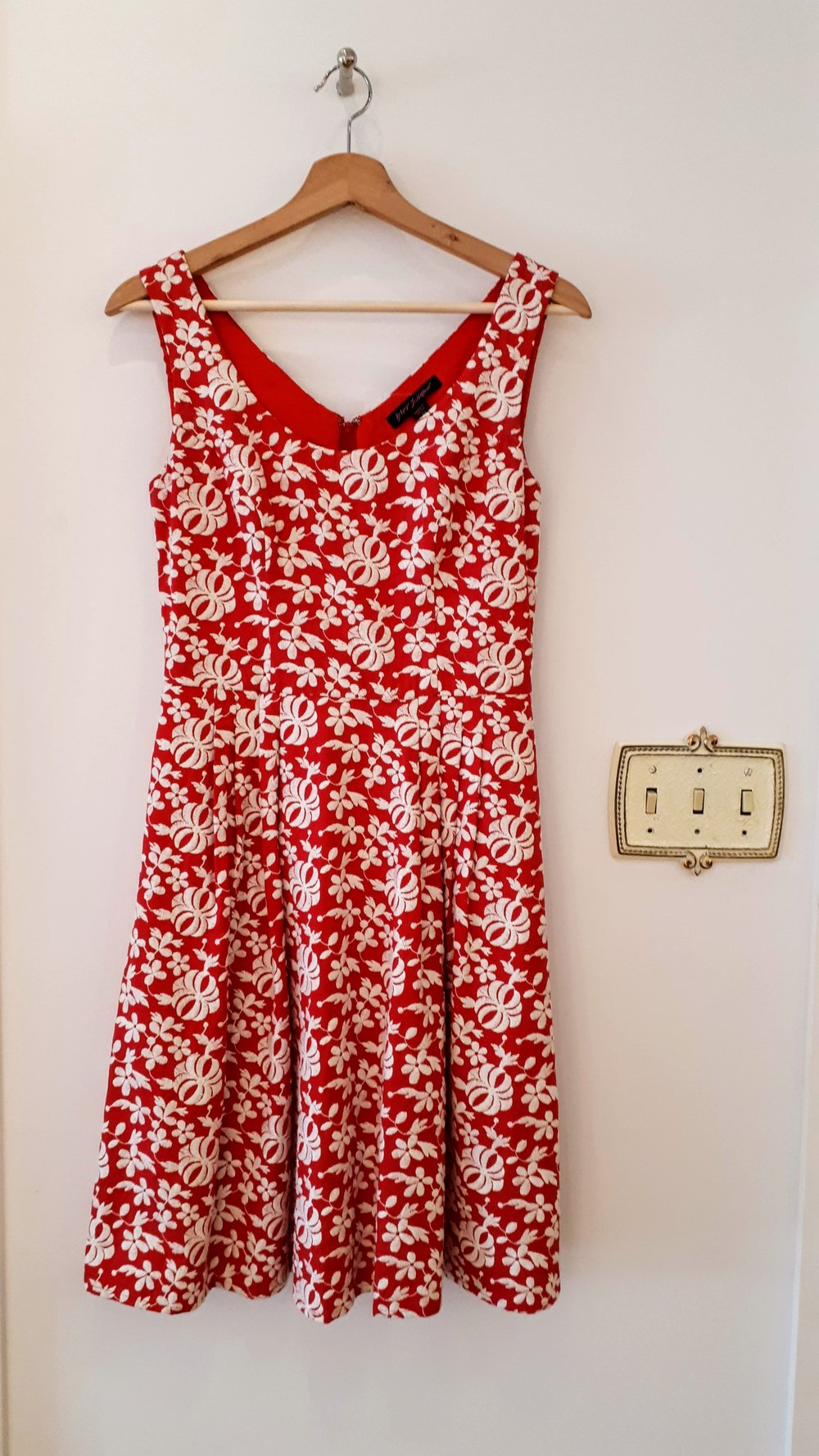 Betsey Johnson dress; Size 4, $62 (On sale for $31)