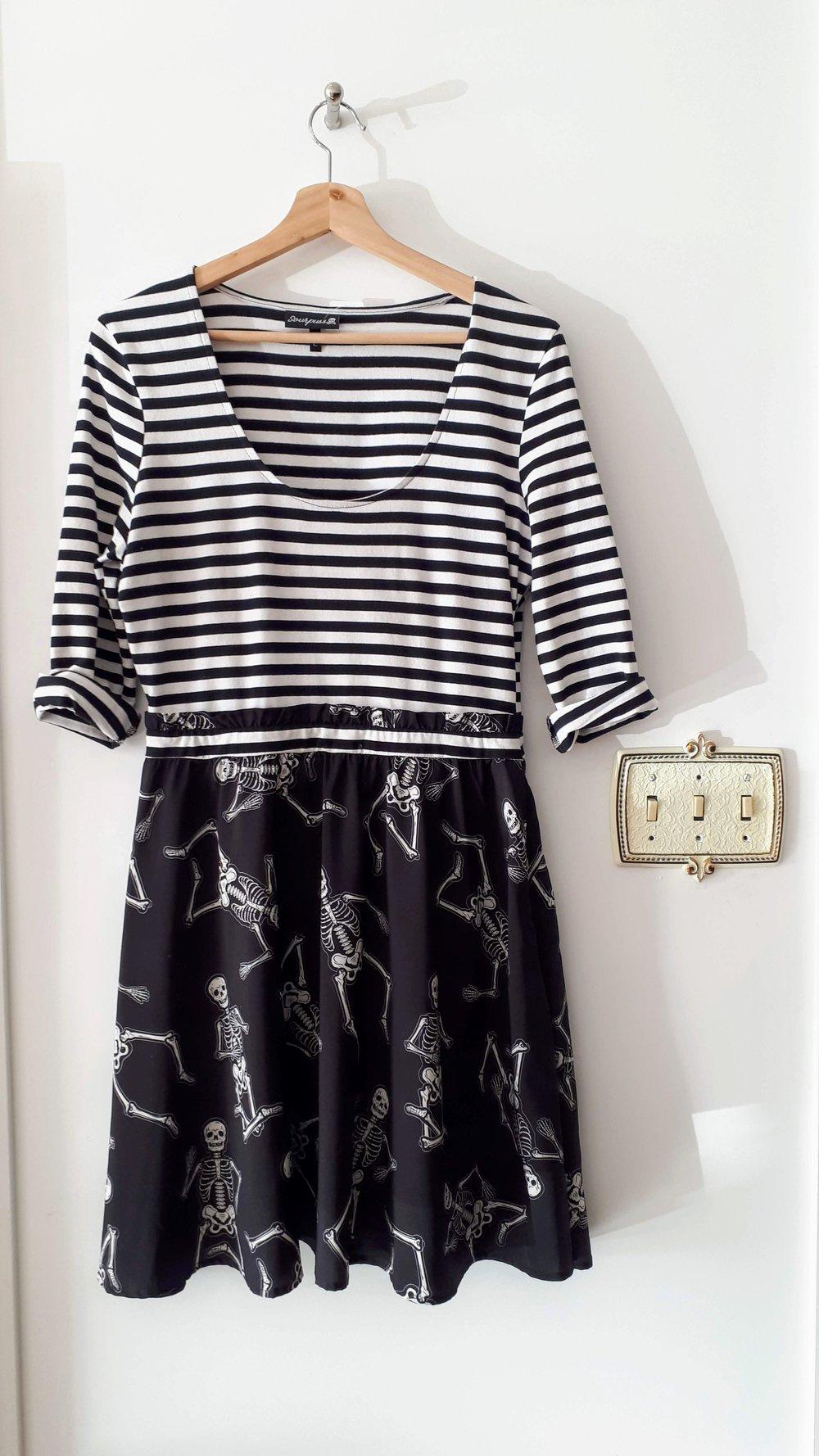 Sourpuss dress; Size L, $42 (on sale for $21!)