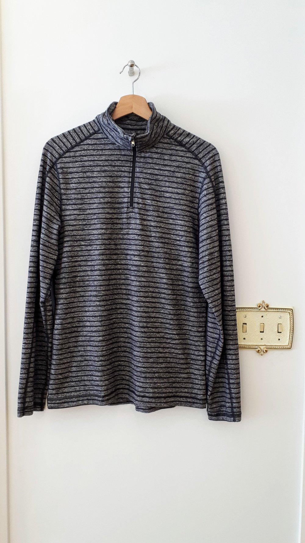 Lululemon top; Mens size M, $38