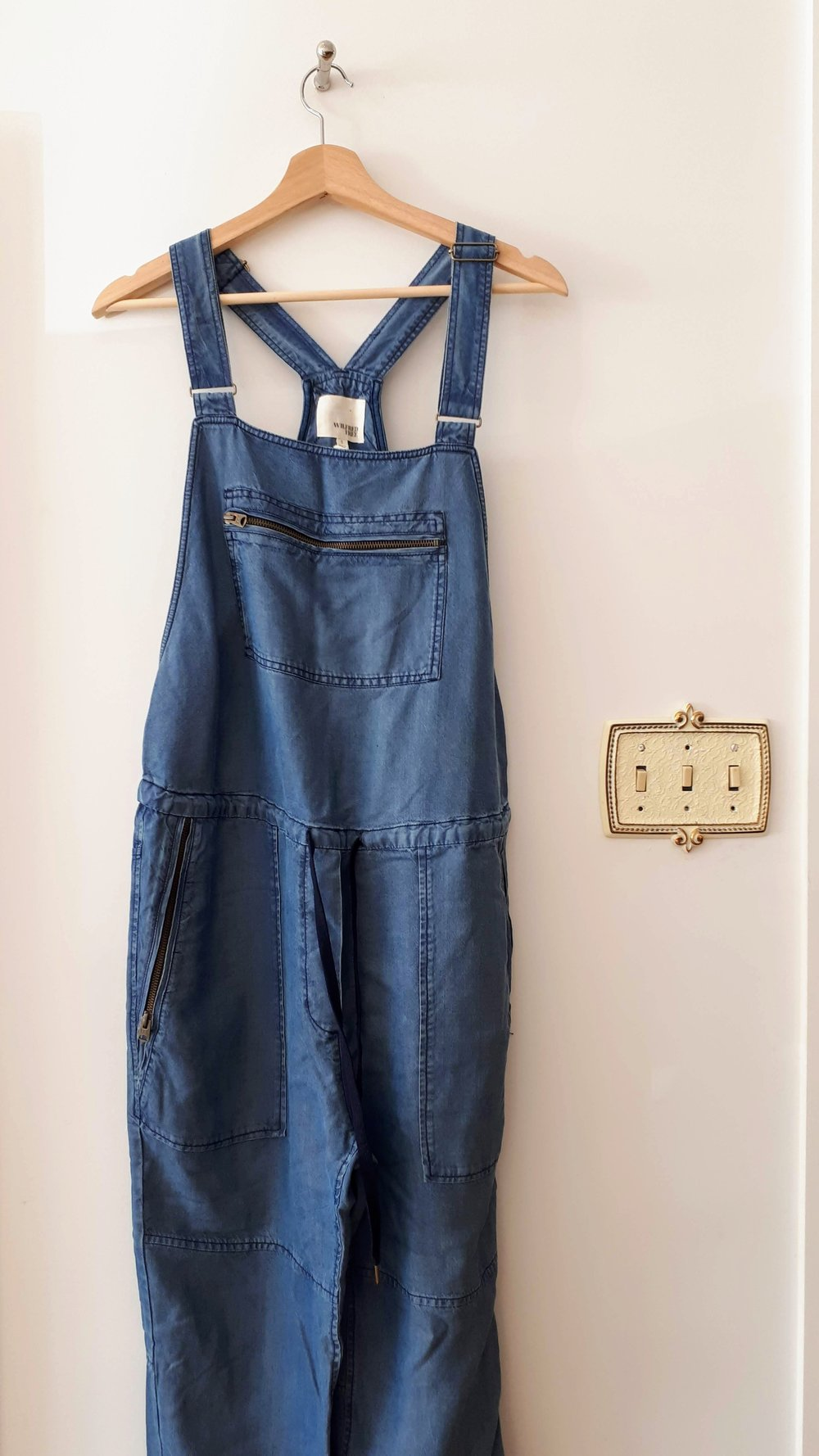 Wilfred overalls; Size S, $46