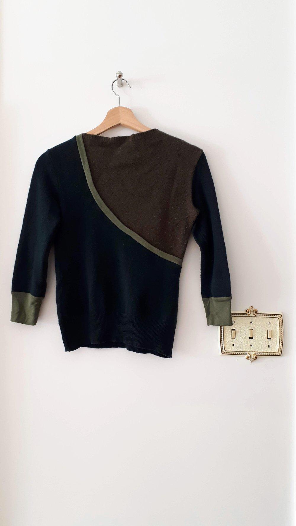 Preloved top; Size S, $26