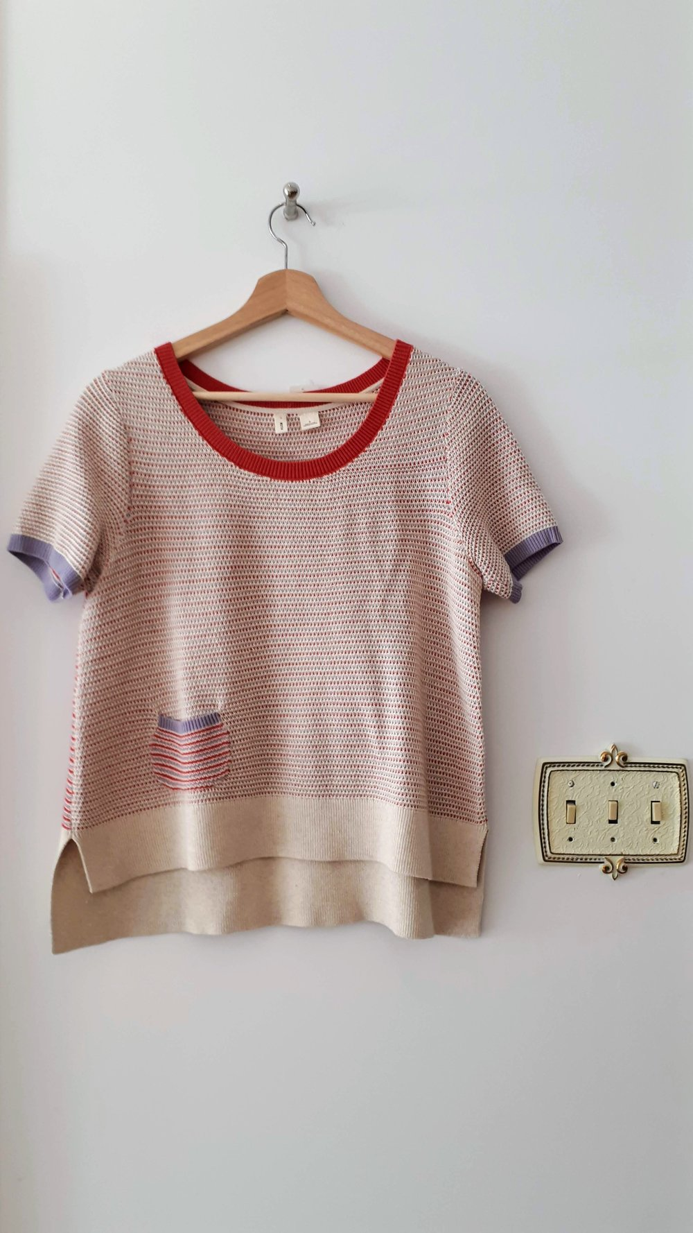 Moth top; Size S/M, $26