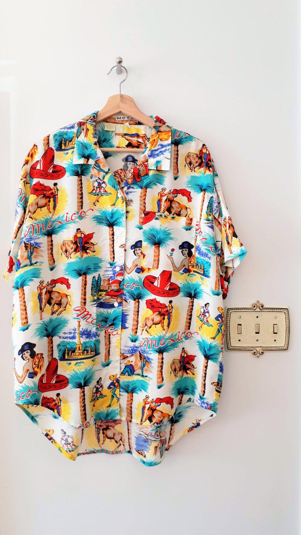 Mexx shirt; Mens size L, $30