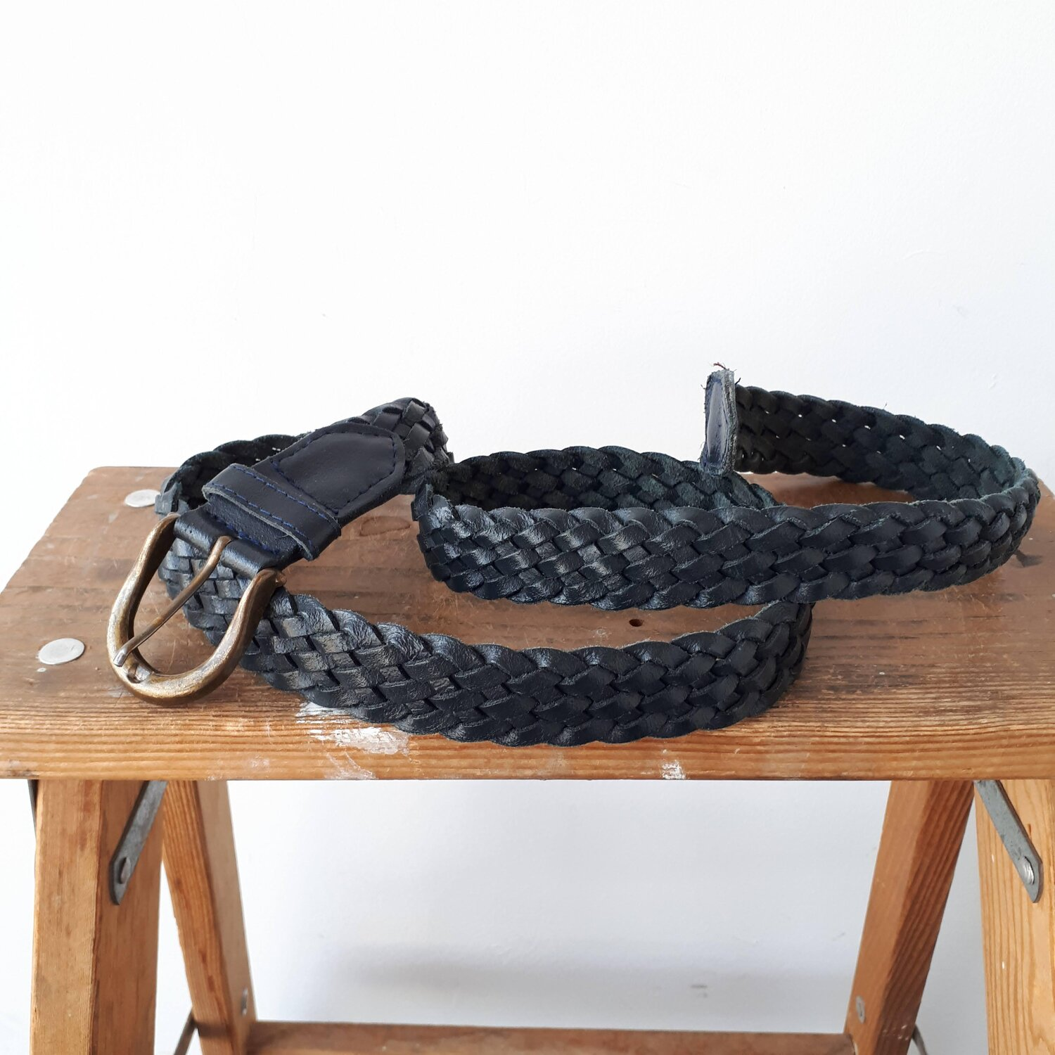 Braided belt  Red Pony Consignment