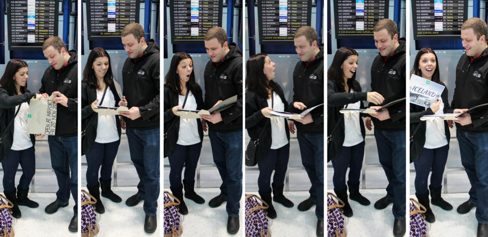 Secret Honeymoons Airport Reveal