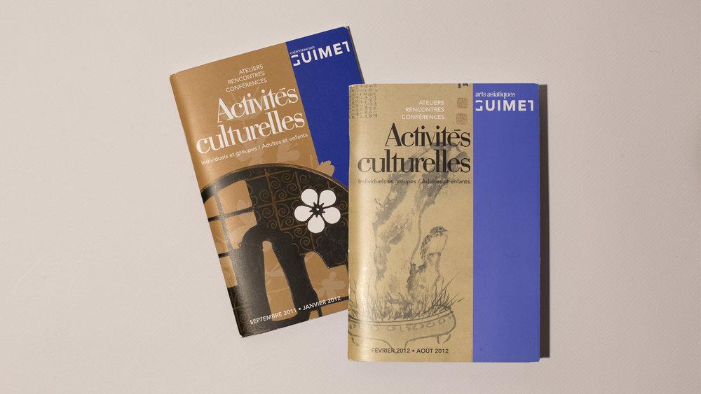 Brochure activites culturelles Musee Guimet