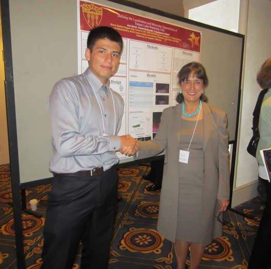 Jose Garcia, Class of 2015, with STAR Program Founder, Dr. Roberta Diaz Brinton.