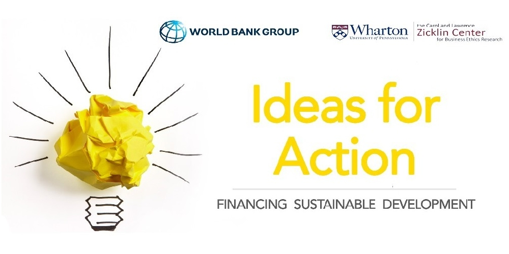 The World Bank's Ideas for Action 2nd Prize Winner 2019