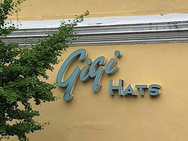 Did I mention that my grandson calls me Gigi? Saw this in Richmond. #grandson #realtorlife #richmond #richmondva #rva