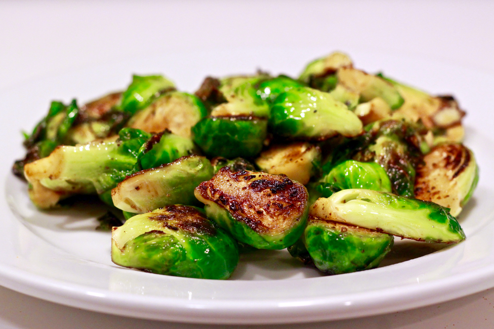 Easy Honey Glazed Brussel Sprouts | karmickravings.com