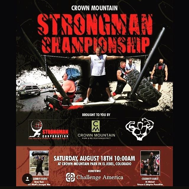 The IWG Strongman Team is headed to the Crown Mountain Strongman Championships in El Jebel, CO this weekend.  The athletes are amazingly strong and the events are so fun to watch.  The energy is contagious and it's impressive to see what they can do! It's a beautiful drive into the mountains, so head on up and see the IWG Strongman team compete!  Coaches: Anthony and Tex Athletes: Huy Le, Nick Strauss,Adam Martin Chris Chandler, Tanna Rae Manthe, Tahverlee Anglen  #IWG #ironwarriorgym #strongman  @iron_warrior_strongman  @maxmuscledenver @zonesmellingsalts