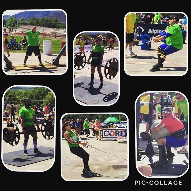 IWG ATHLETE RESULTS FROM THE CROWN MOUNTAIN STRONGMAN CHAMPIONSHIPS:  Another massive weekend for the Iron Warrior Strongman team!  Tanna Rae 1st  Chris 1st Tahverlee 2nd Huy 3rd  Nick 3rd Adam 4th  All of our athletes put on dominating performances and it shows! Congrats to all of our athletes that competed this weekend! You've made the team proud! 2018 is turning into quite the year for us!  @strongarmchandler @buffalo_barbell_117 @thebeefstroganoff @tahverlee @tr_manthe @strongchef85 @strongmancorporation @ironwarriorgympowerlifting @_muscles_marinara  @bigtexmartin  @sethlee817  @radopeaches  @iron_warrior_strongman  @maxmuscledenver  @zonesmellingsalts  #strongman #ironwarriorgym #IWG #ironwarriorstrongman