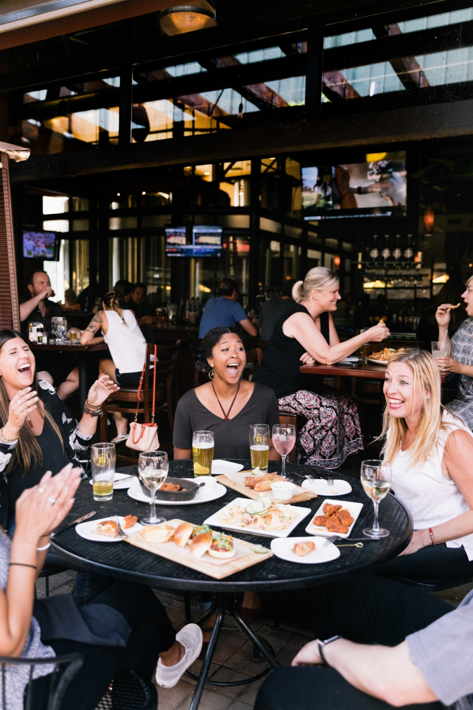 Jimena-Peck-Denver-Food-Photographer-Gordon-Biersch-Brewery-Having-Fun