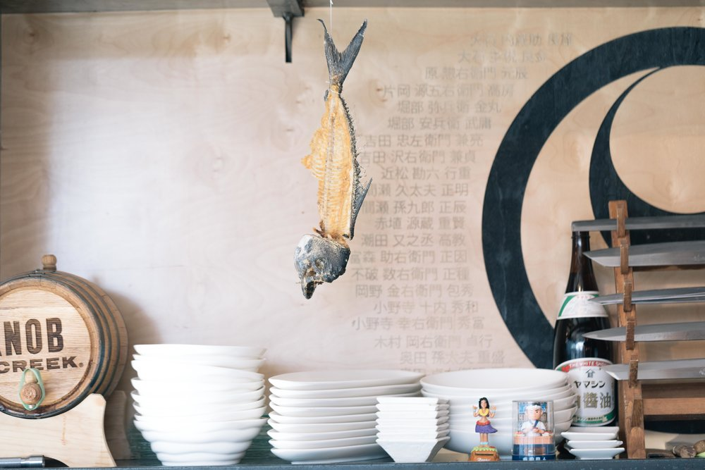 Jimena Peck Denver Lifestyle Editorial Photographer Lakehouse Denver Fish Skeleton Kitchen