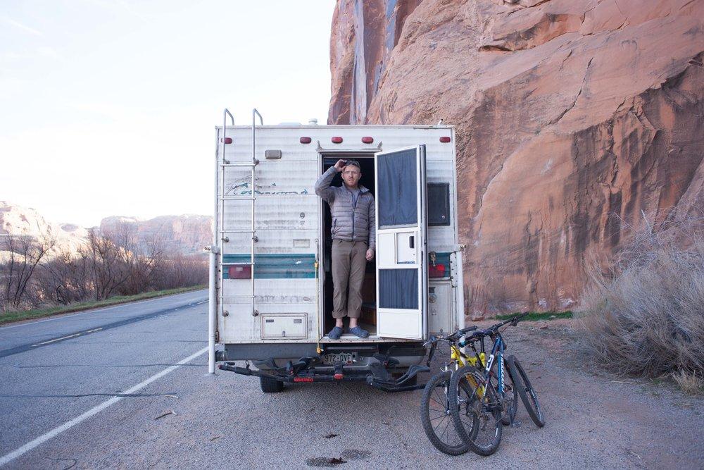 Jimena Peck Denver Lifestyle Editorial Photographer Motorhome Bikes