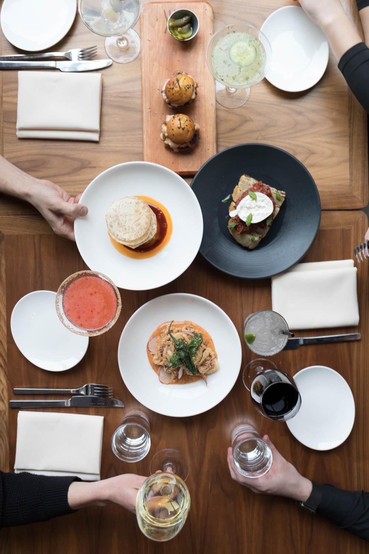 Jimena-Peck-Denver-Food-Editorial-Photographer-STK-Denver-Full-Table