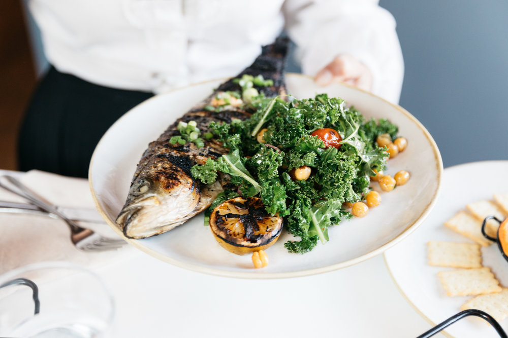 Jimena Peck Denver Lifestyle Food Photographer Fish And Beer Fish Kale