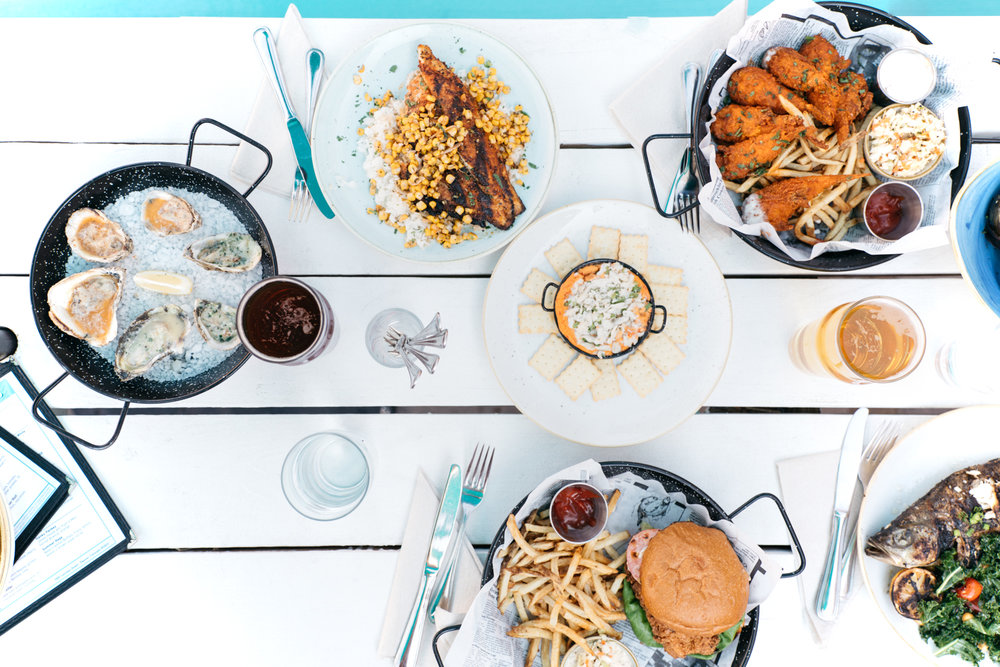 Jimena Peck Denver Lifestyle Food Photographer Fish And Beer Dishes