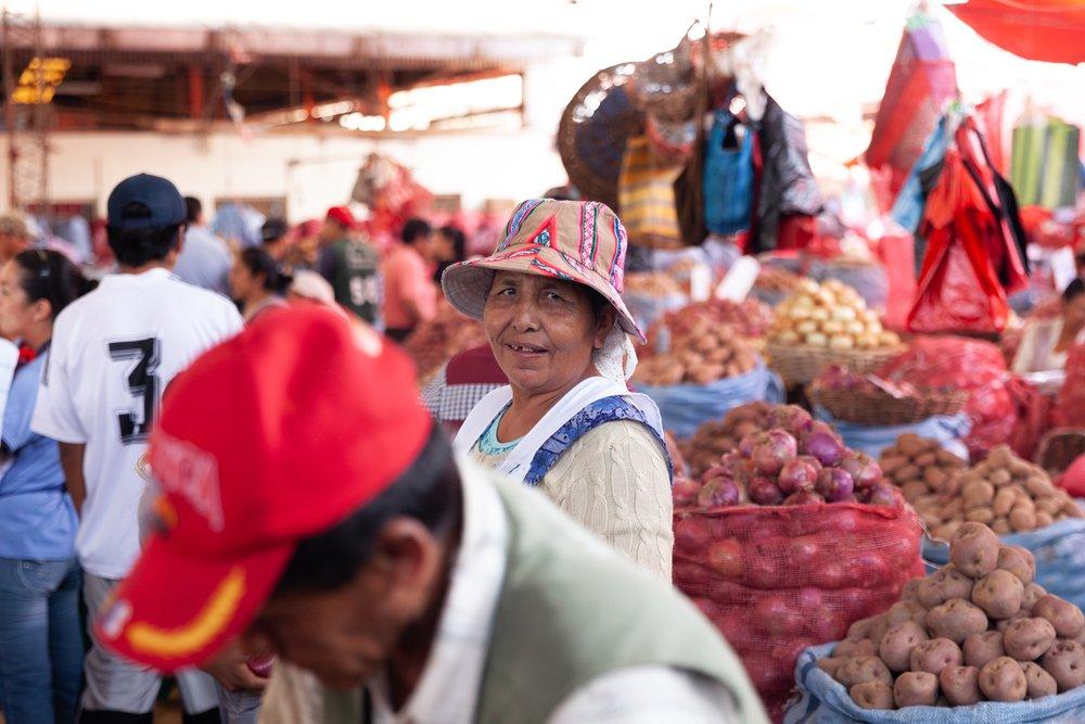Jimena Peck Denver Lifestyle Editorial Photographer Bolivia Market Potatoes