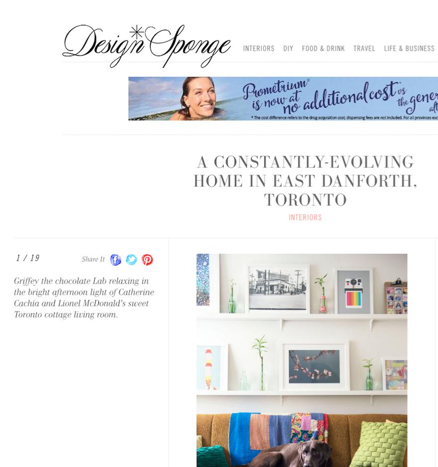 Design*Sponge Interiors Feature