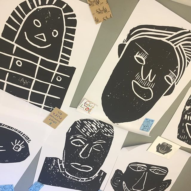 Join us this Friday for the opening of OH TO BE HUMAN an exhibition of prints by artists from @submittolovestudios @headwayELondon join us 6pm - 9pm our project space: enclave unit 8, resolution way, deptford, se8 4al