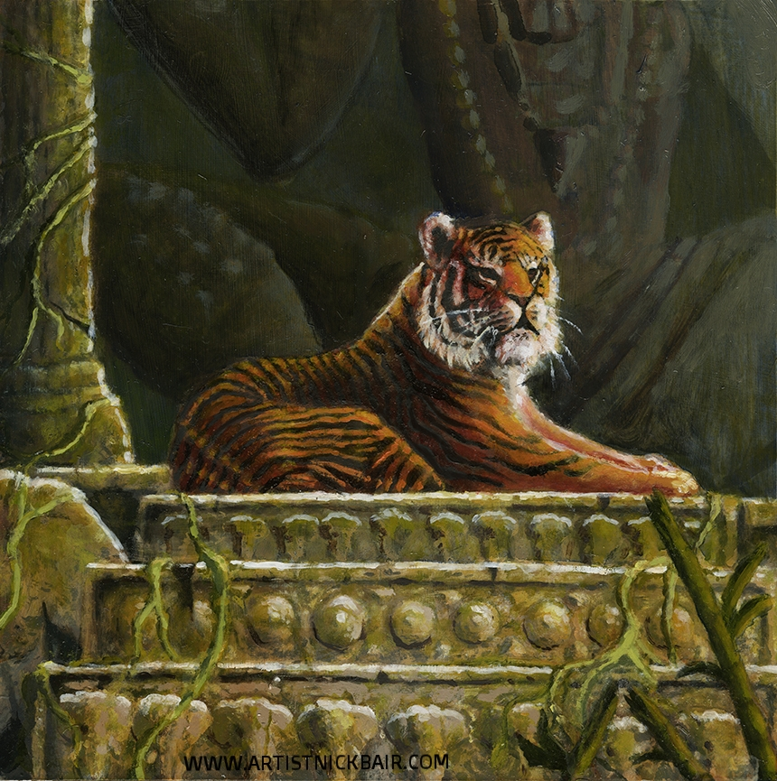 Tiger in the Temple