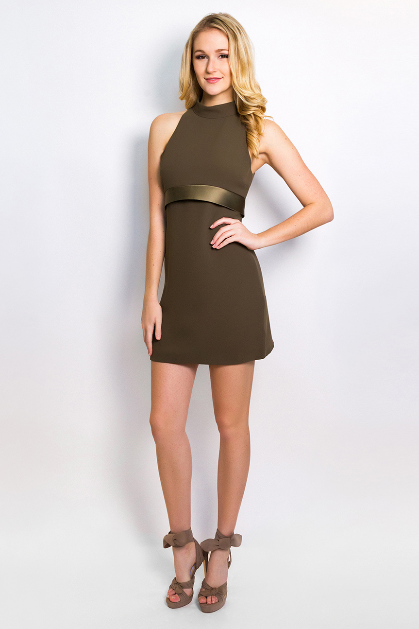 Halter Mini Dress  $1,395
