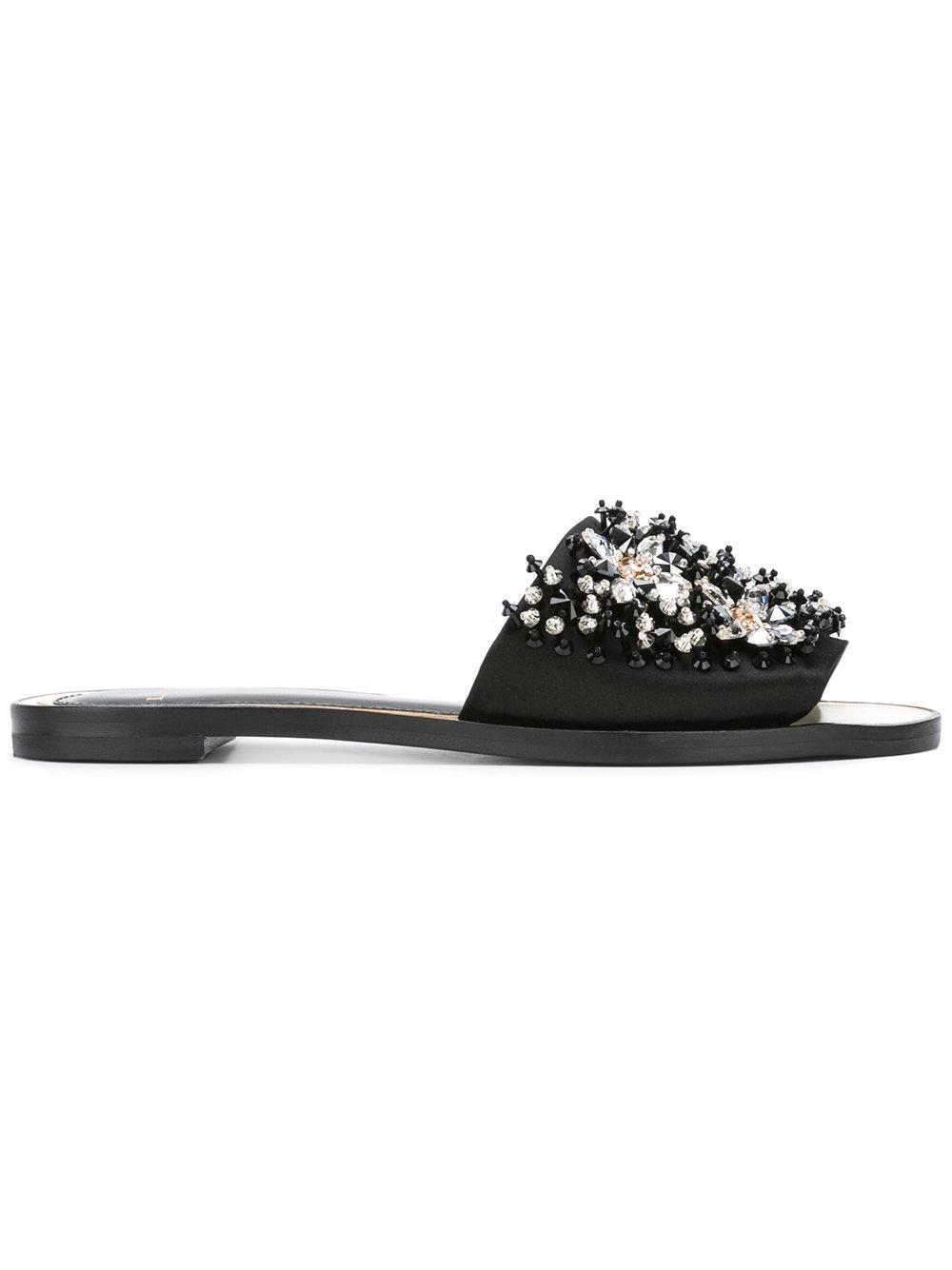 LANVIN - crystal strap sandals  $995