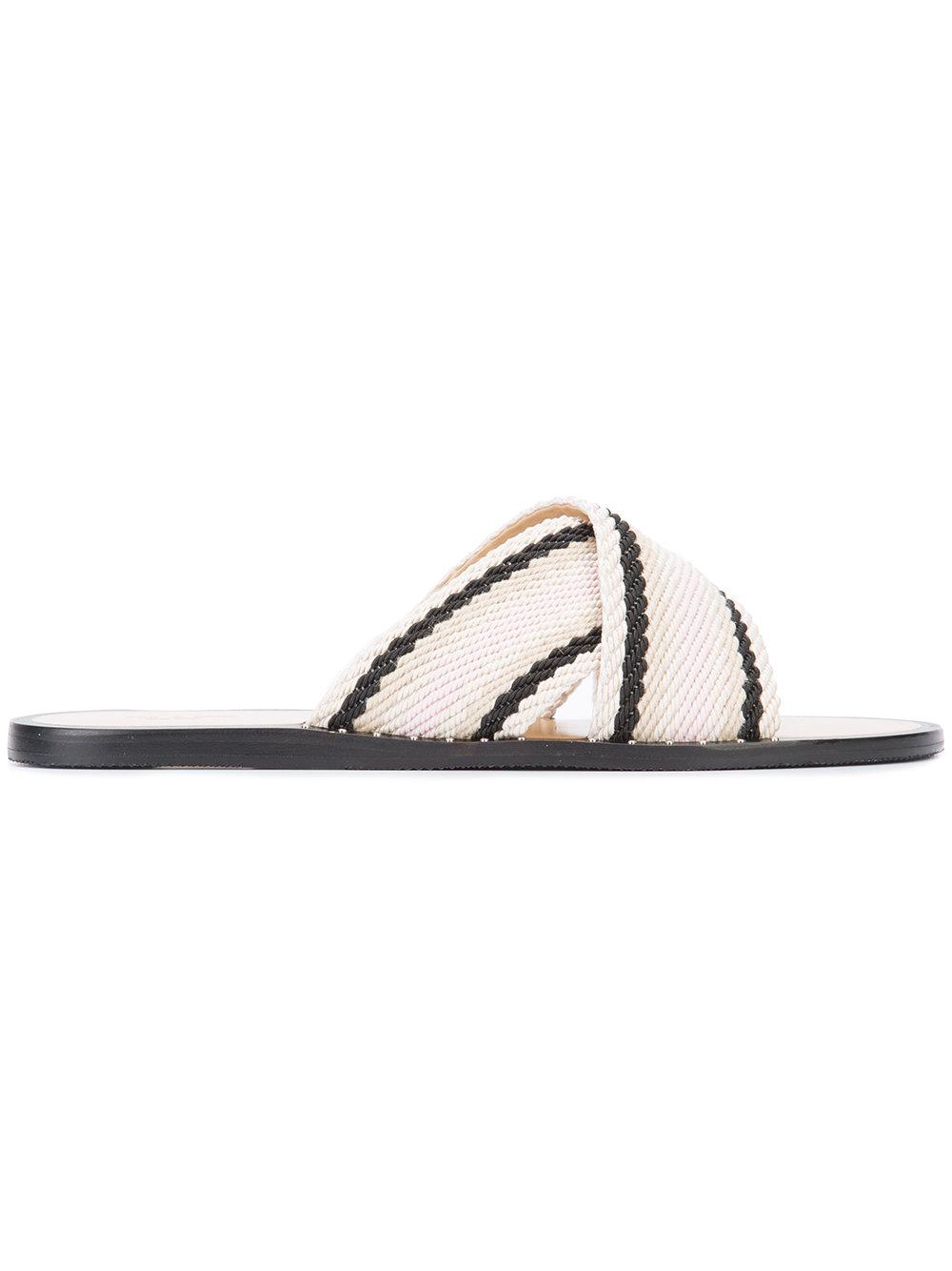 RAG & BONE - criss cross sandals  $250