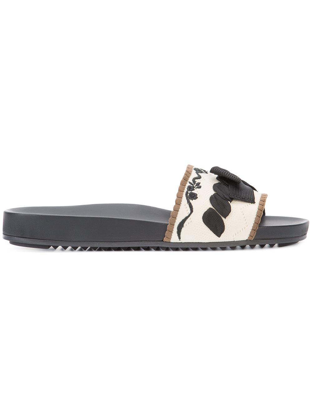 FENDI - flat sandals  $600