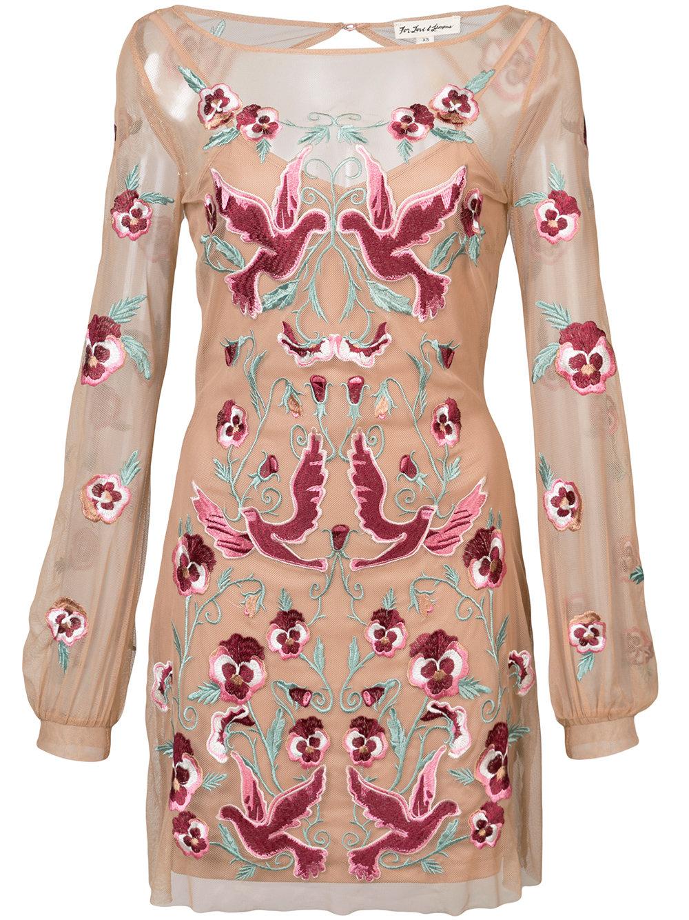 FOR LOVE AND LEMONS dress - $325