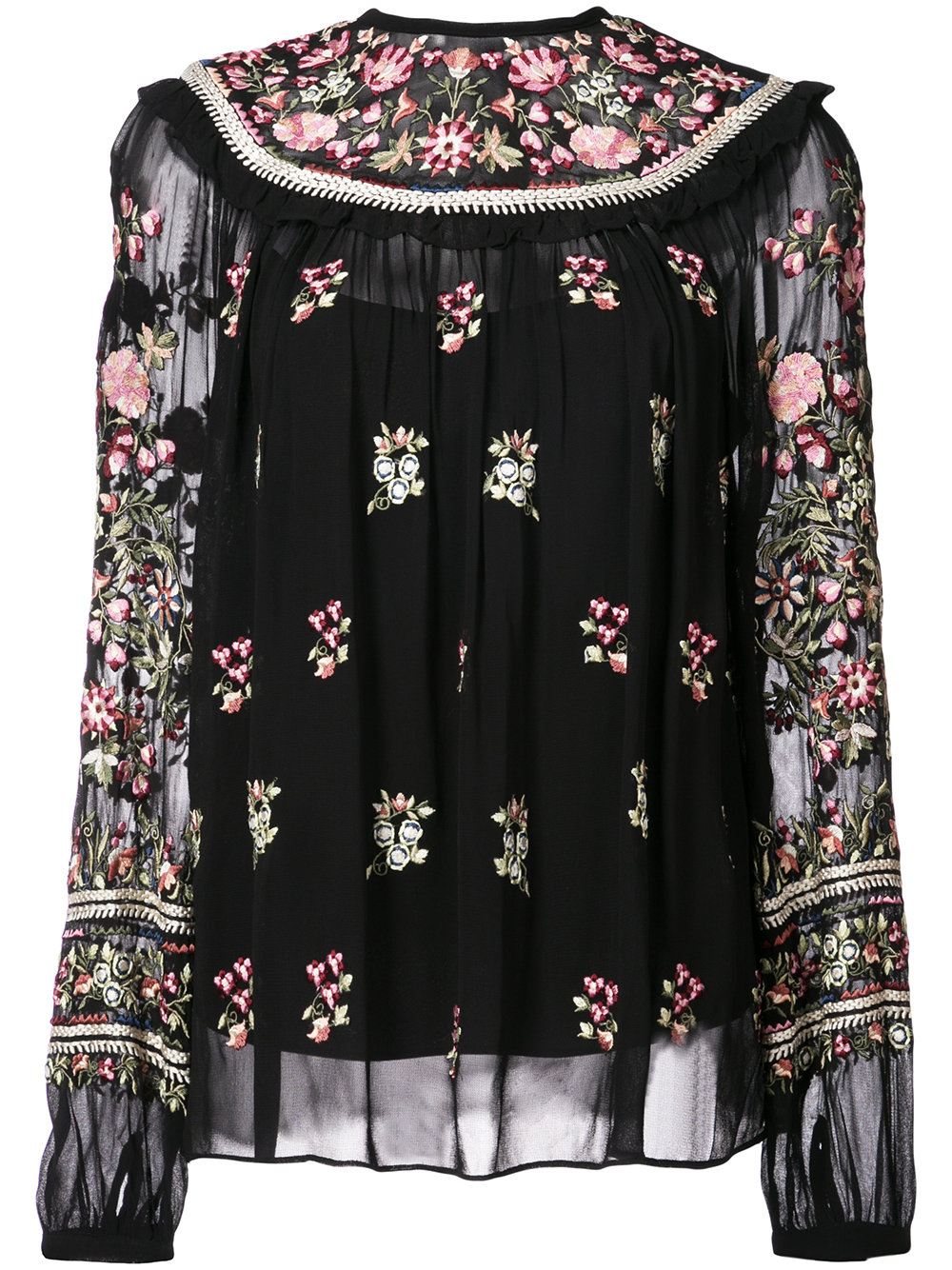 NEEDLE & THREAD blouse - $350