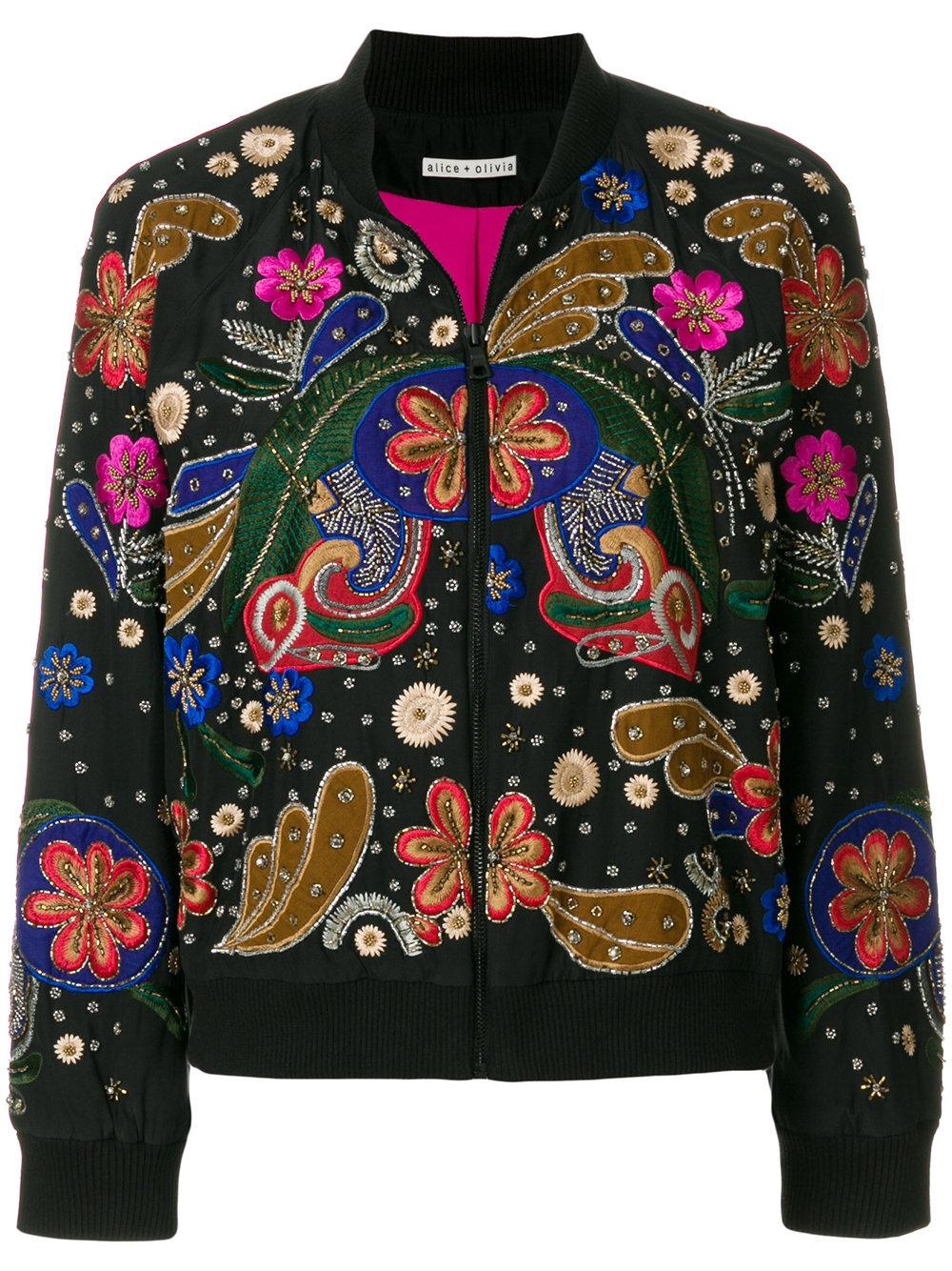 ALICE+OLIVIA bomber jacket - $795