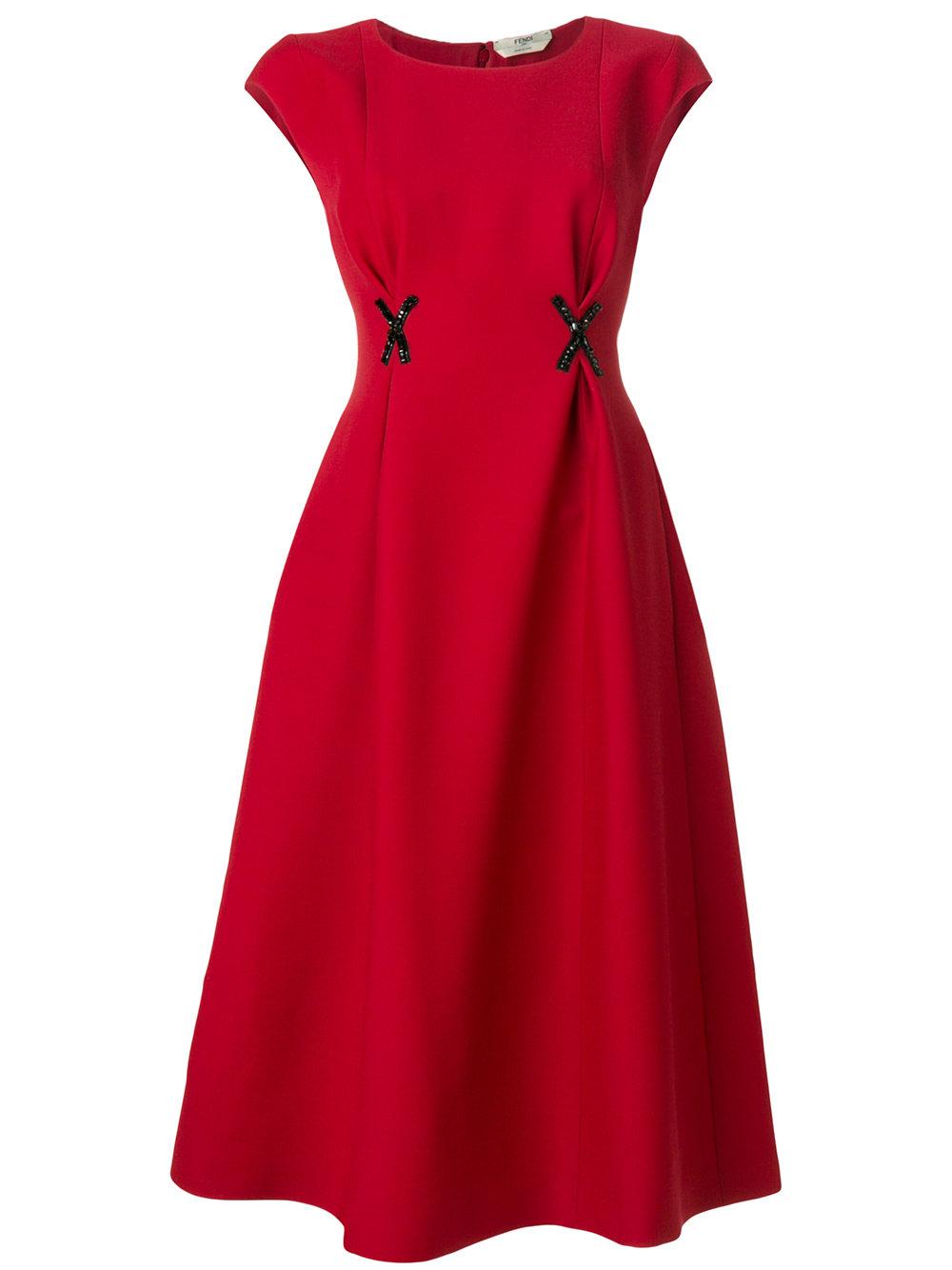 FENDI appliqué dress - $2,850