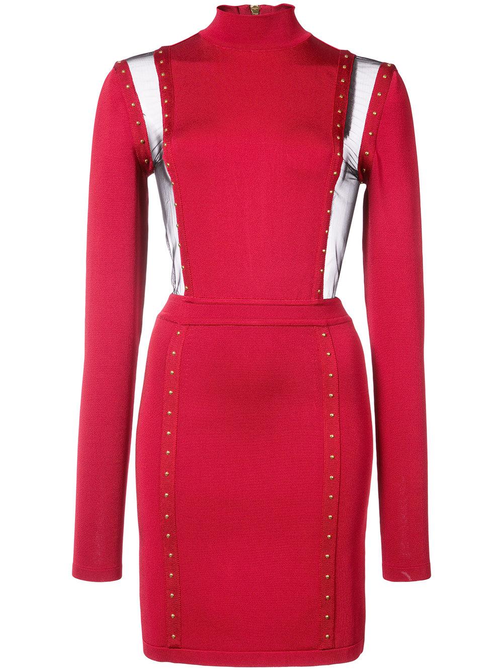 BALMAIN mini dress - $2,685