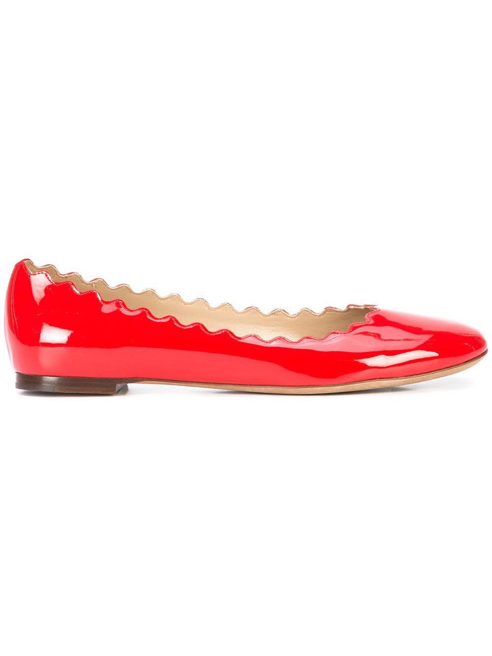 CHLOÉ ballerina shoes - $495