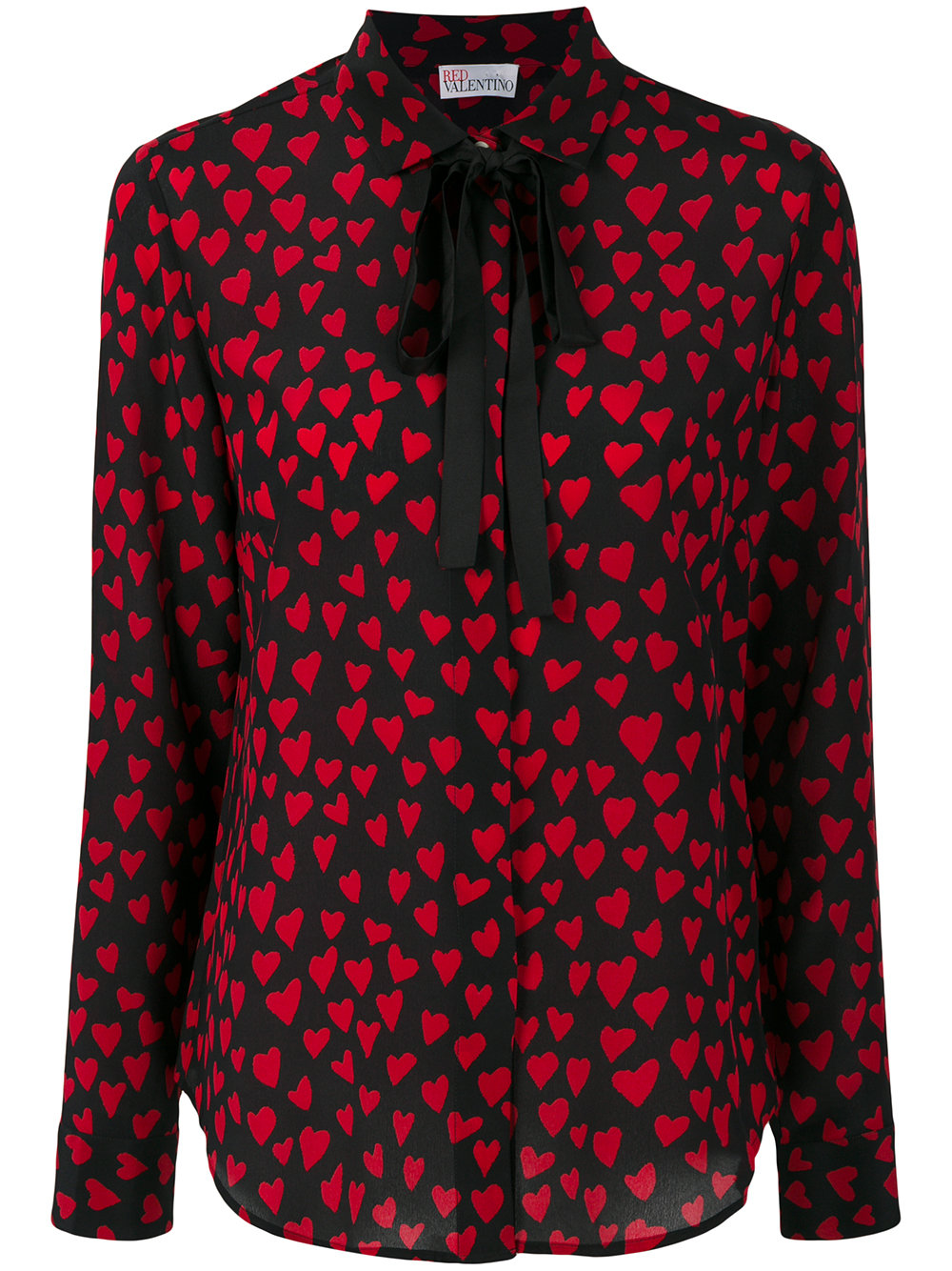 RED VALENTINO heart blouse - $595
