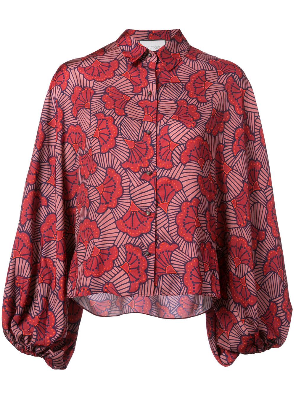 ALEXIS floral print shirt - $285
