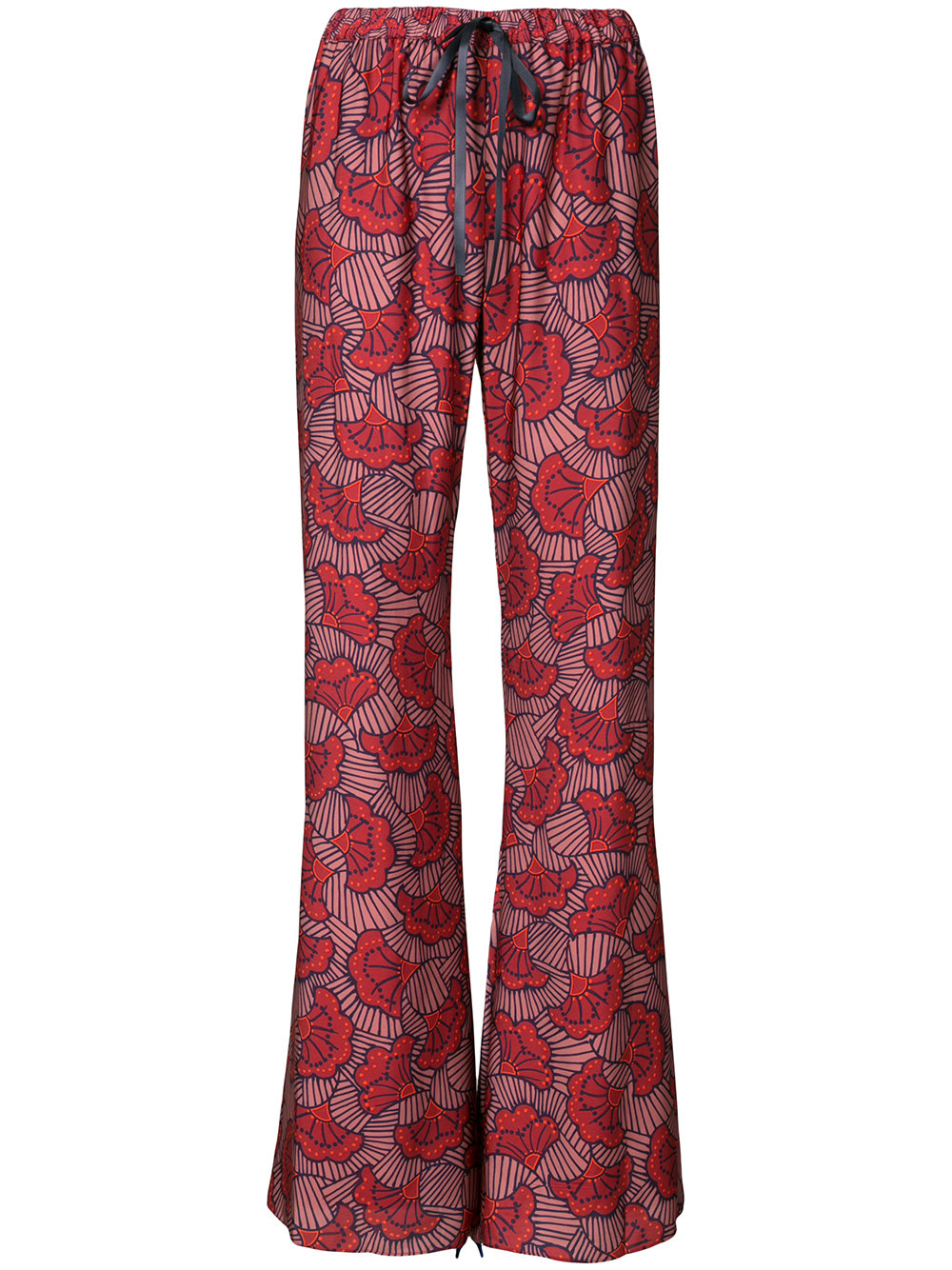 ALEXIS floral print trousers - $320